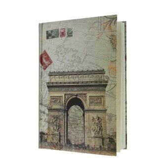 Notebook Gift Book Travel Diary Journal Hard Cover 144 Pages-Triumphal Arch - intl
