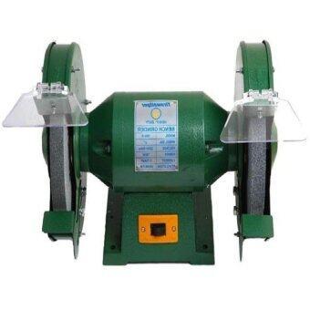 Oemgenuine newopen มอเตอร์แท่นหินเจียร์ไฟฟ้าล้อคู่5นิ้ว สีเขียว