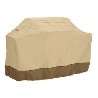 NO.1 Outdoor Dustproof Barbecue Gas Grill Cover Size: 190 X 71 X 117Cm- Khaki - intl