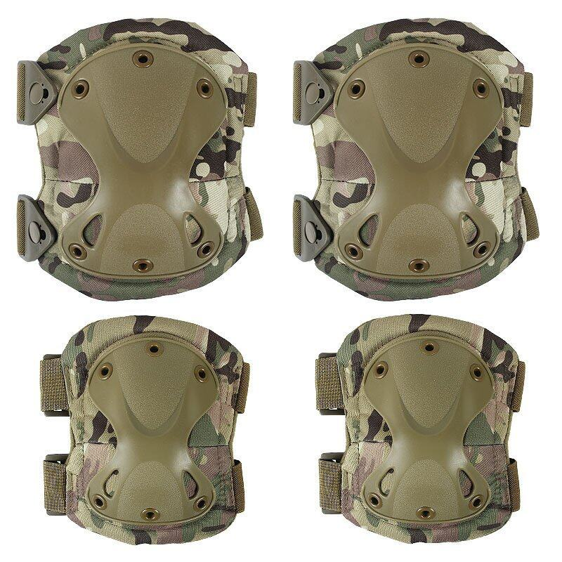 PAlight Knee Elbow Protecting Tool Set (CP Camouflage) (Intl) .