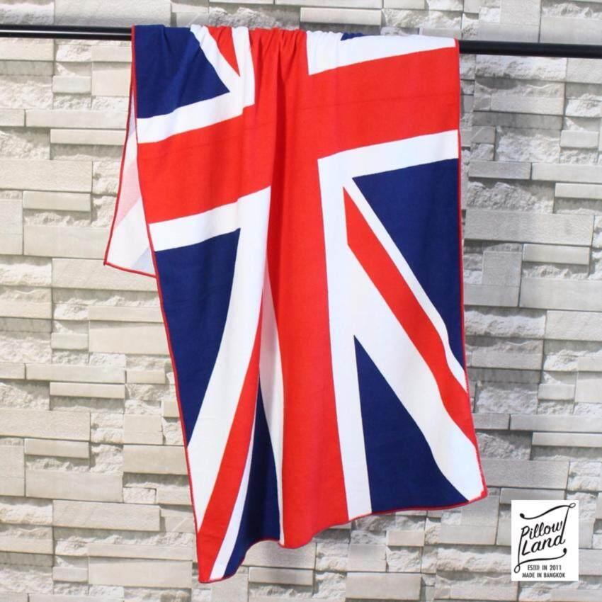 ผ้าขนหนู นาโนลายธงชาติ ขนาด 70cm.x 140cm. รุ่น - ผ้าเช็ดตัว 101