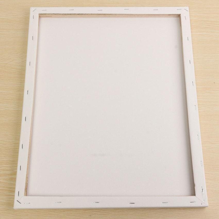 PLATIM White Blank Square Canvas Board Wooden Frame For Art Artist Oilacrylic Paints 40X ...