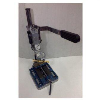 Prin Market แท่นจับสว่านไฟฟ้า รุ่นหนา+ปากกาจับชิ้นงาน ขนาด3นิ้ว 1ชั้น