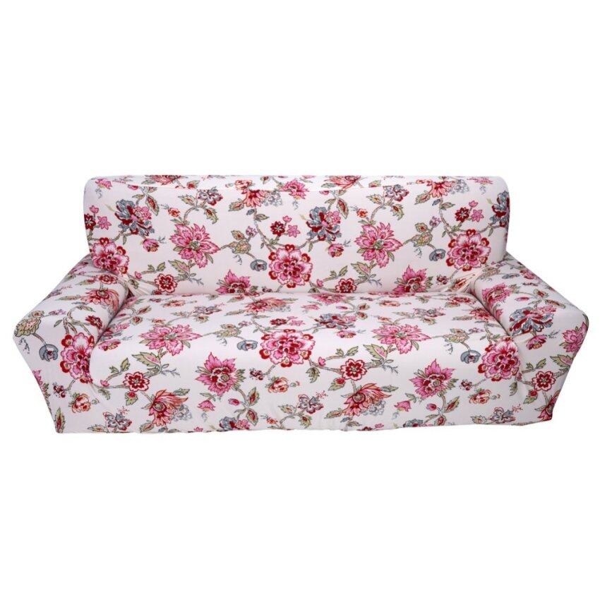 Printing Stretch Elastic Sofa Slipcovers Couch Cover Furniture Protector  For 3 Seater #1 .