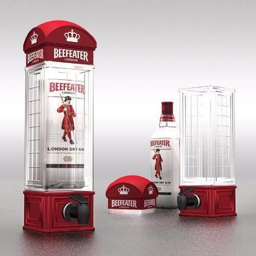 ทาวเวอร์เบียร์/น้ำผลไม้ รูปตู้โทรศัพท์ลอนดอน ...