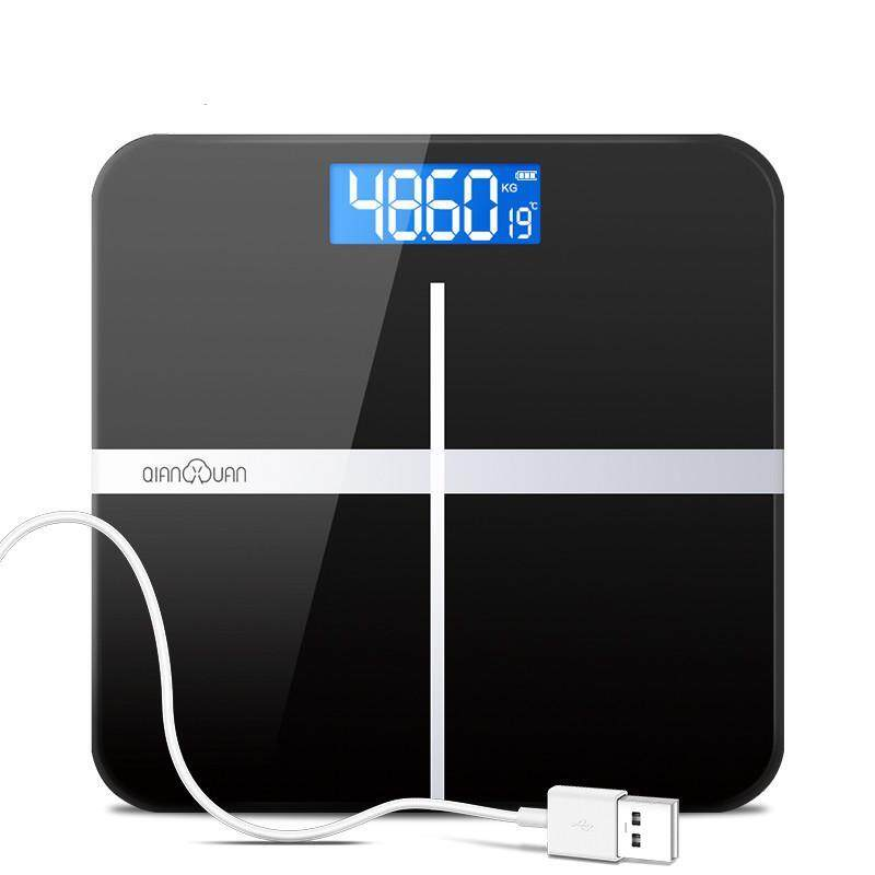 Qianxuanrechargeable precision bathroom scales - intl