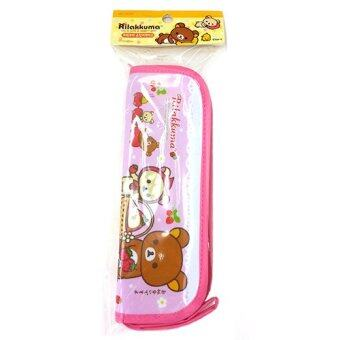 Rilakkuma Multi-Purpose Zipper Strap Case Pink