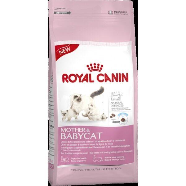 Royal Canin Babycat อาหารสำหรับลูกแมว ช่วงหย่านม 4 เดือน 2 kg.