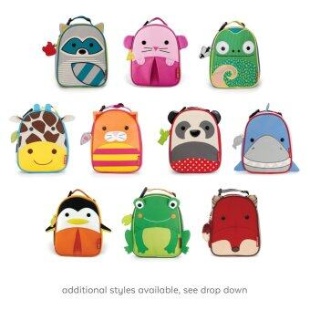 Skip Hop Zoo Lunchie Insulated Lunch Bag, Raccoon - intl