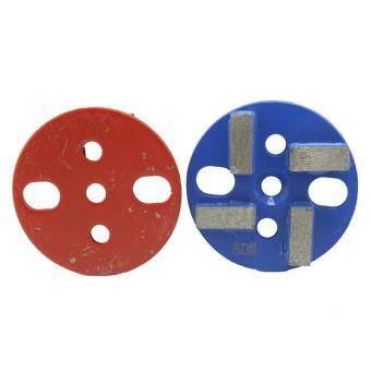 Stone Tools 1 Piece 3 Inch/80mm Dry Metal Grinding Pads Granite Marble Stone Concrete Floor Polishing Pads - intl