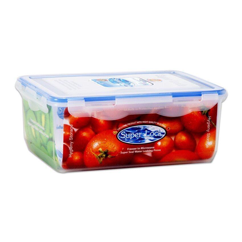 กล่องอาหาร Super Lock - 18.5 x 27 x 11 cm. 4200 ml