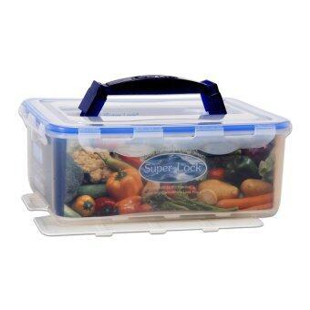 กล่องอาหาร Super Lock - 22 x 28.5 x 11.5 cm.