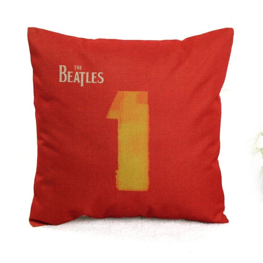 The Beatles Rock Classic Song Pillow Case Cotton Linen Cushion Cover Collect Intl New ShopSmartly