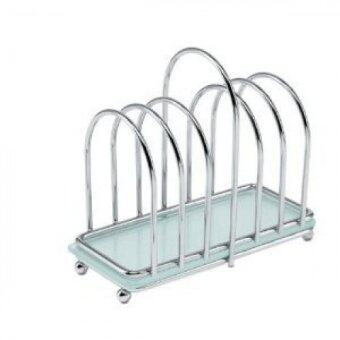 Toast Rack with Frosted Glass Base - intl