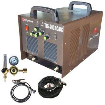 Tools Pro เครื่องเชื่อม BIGPOWER TIG-200AC/DC (เชื่อมอลูมิเนียมได้)