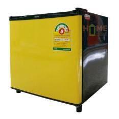 TOSHIBA ตู้เย็น 1ประตู 1.7 คิว สีเหลืองมัสตาด รุ่น GR-A706C.NY