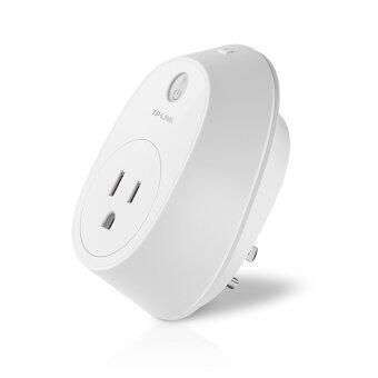 TP-LINK ปลั๊กอัจฉริยะ อุุปกรณ์ เปิด-ปิด อุปกรณ์ไฟฟ้าผ่านมือถือ WIFI Smart Plug Energy M รุ่น 'HS110' (สีขาว)