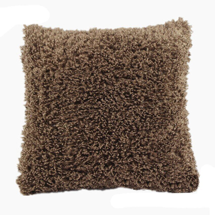 Velishy Floral Country Cottage Viscose Cushion Covers (Brown) - intl ...
