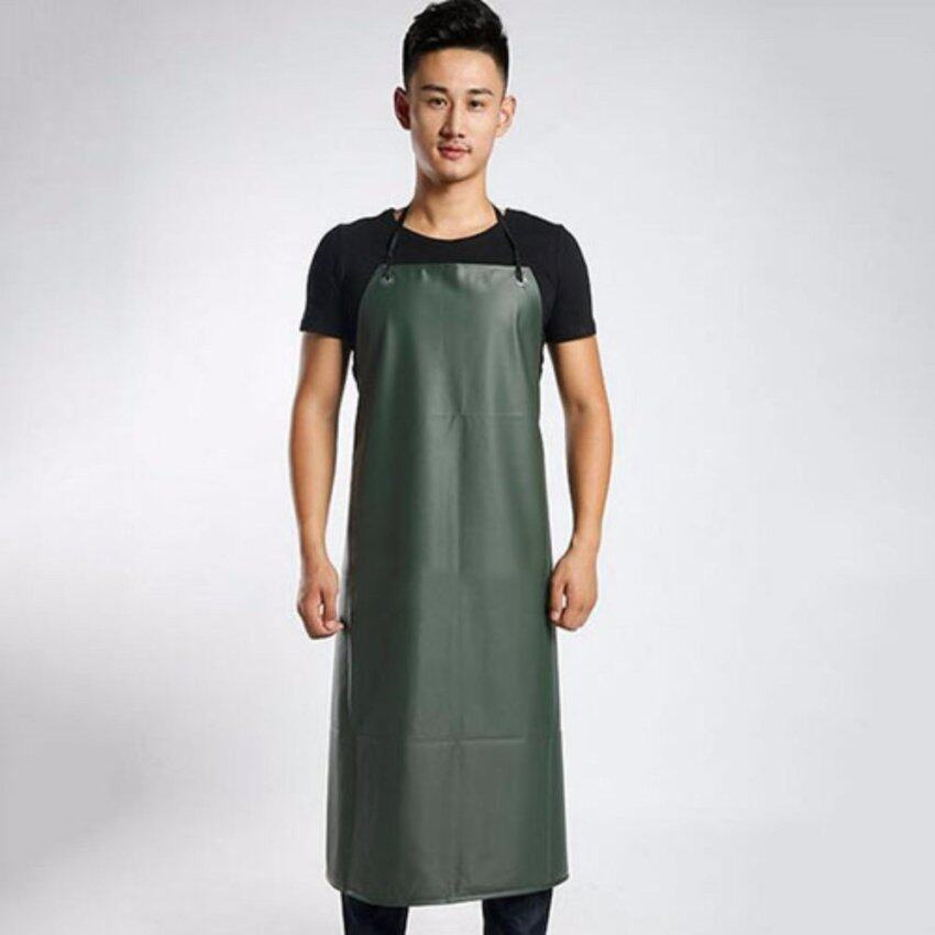 XKP Apron waterproof and oil proof Male and female adult Bib Overalls Home Furnishing Kitchen Restaurant - intl