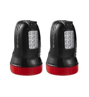 YG ไฟฉาย Spot light รุ่นYG-5500 2 ชิ้น (Black)
