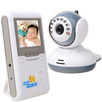 "2.4"" Wireless IR Camera Digital Baby Monitor Night Vision, Two-way Intercom, Real-time Security Monitoring"