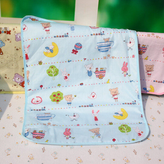 2pc 50x70cmThickened extra large breathable baby diaper pad waterproof baby diaper pad cotton mattress newborn supplies - intl