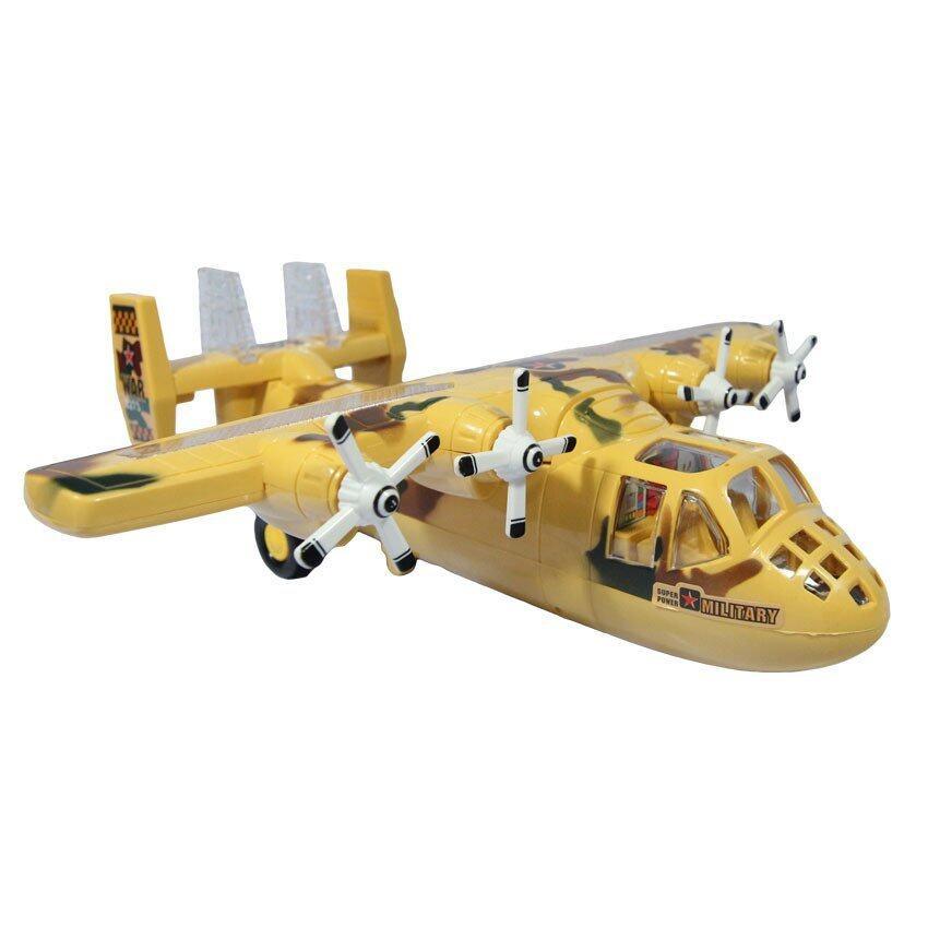 ของเล่น เครื่องบิน เครื่องบินบรรทุก ใส่ถ่าน มีเสียง มีไฟ 3273