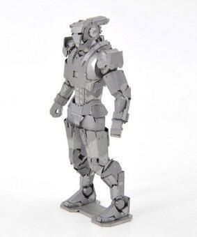3D Puzzle Metallic Steel Nano Toy Iron Man 2 - Intl