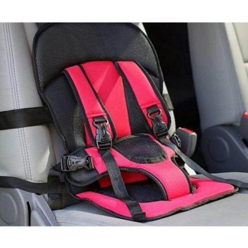ที่นั่งเด็กในรถ ใช้แทนคาร์ซีท (เด็กเล็ก - 4 ขวบ) - สีแดง ...