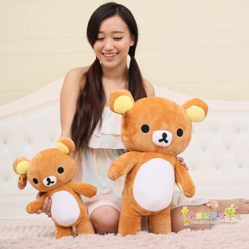 50Cm Rilakkuma Plush Toy, Rilakkuma Stuffed Animal, Rilakkumastuffed Bear, Rilakkuma Soft Toy Pillow Big Teddy Bear Plush Toy - intl