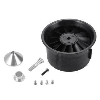 64mm Duct Housing Fan 12-Blade Prop Unit Spare Parts for RC EDF Jet Airplane