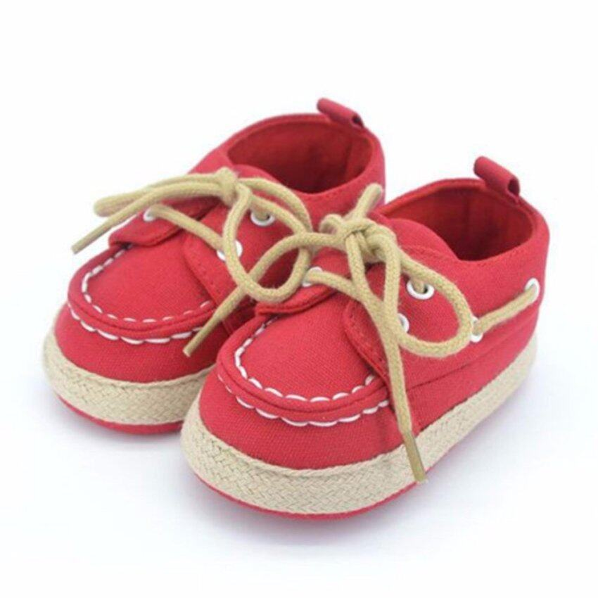 Baby Touch รองเท้าเด็ก รองเท้าหัดเดิน โบ้ทชูส์ (แดง) ...