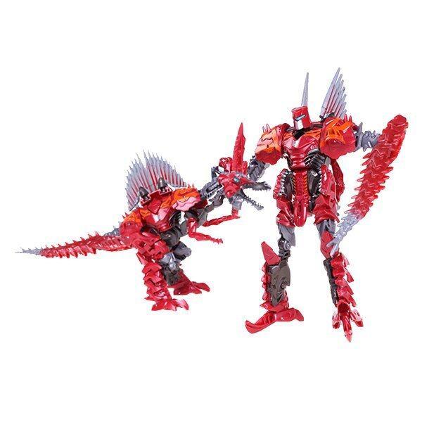 ด่วน BB Kids Robot Change หุ่นยนต์ แปลงกายไดโนเสาร์ (สีแดง) ราคาถูก