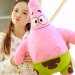 Big Size 40cm SpongeBob & Patrick Cartoon Plush Toys Birthday Christmas Gifts For Girls #ML0064