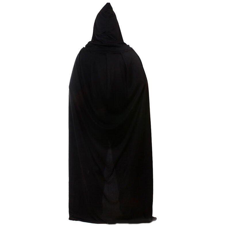 Black Halloween Costume Theater Prop Death Hoody - intl ...