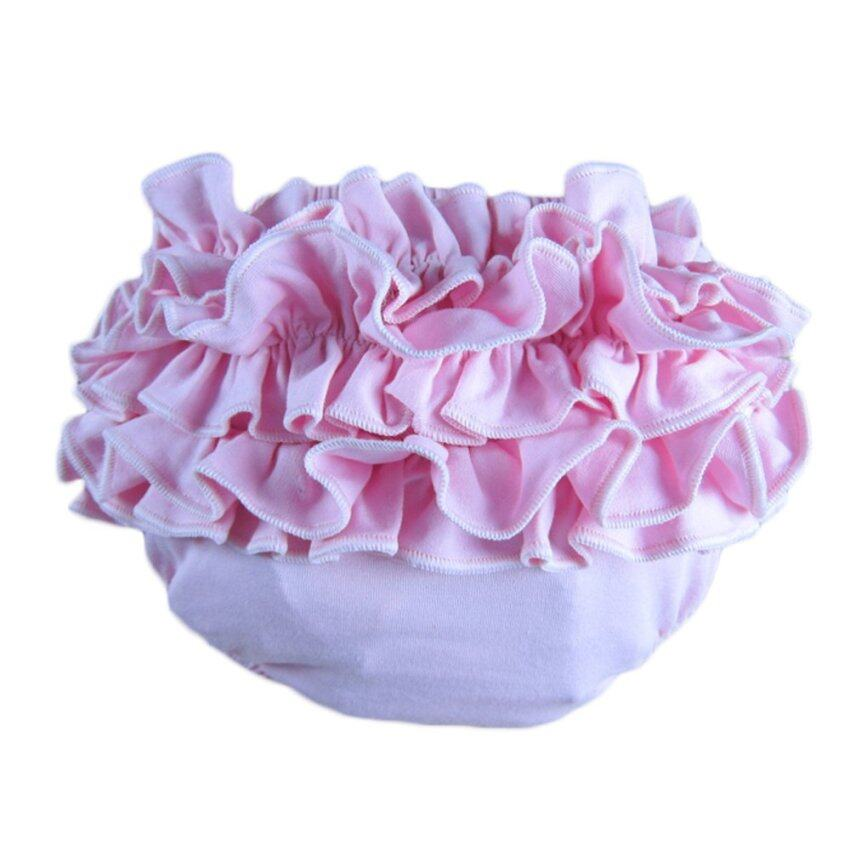 Buenos Ninos Cotton Woven Baby Newborn Bloomers Diaper Covers Pink
