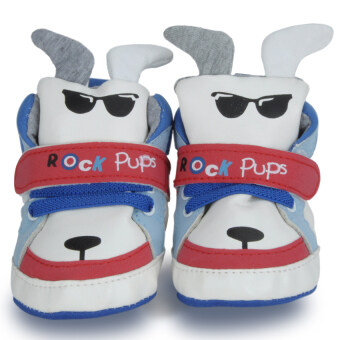 Cartoon Design Dog Pattern Childrens Footwear Shoes (Multicolor)