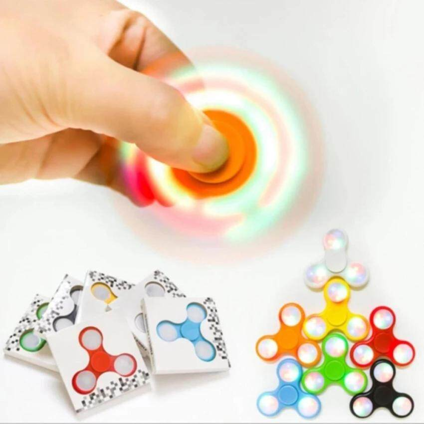 Fidget Spinner LED Light Hand Spinner Fingertip With Switch