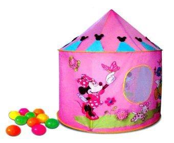 Funny Toys เต็นท์มินนี่เม้าส์ - สีชมพู + บอล 10 ลูก