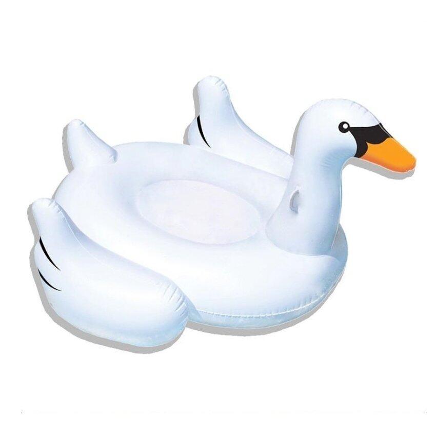 Funny Toys Giant Swan Inflatable แพยาง หงส์ขาว (สีขาว) ...