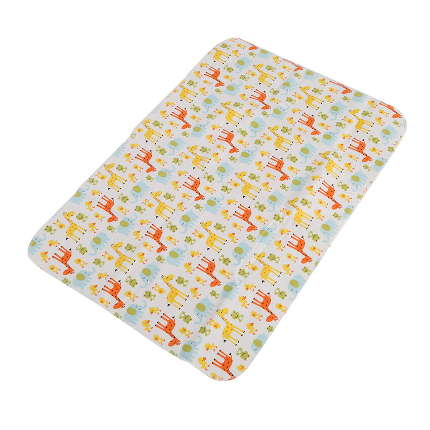 Giraffe Children Baby Large Waterproof Bamboo Fiber Changingmat Cover Pad Baby Infant Diaper 70X49cm - intl