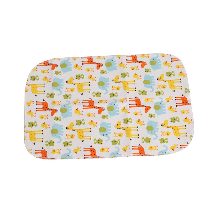 Giraffe Children Baby Waterproof Bamboo Fiber Changing Matcover Pad Baby Infant Diaper 4 ...