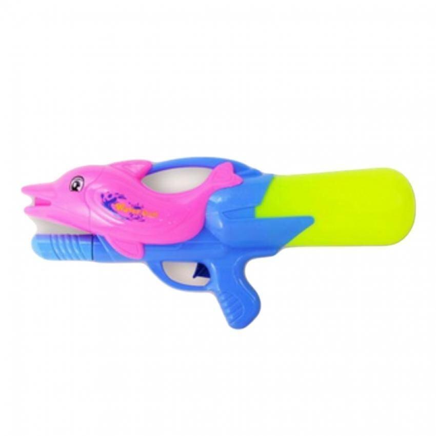 Hellomom ปืนฉีดน้ำปลาโลมาอัดแรงดัน 17 นิ้ว Water gun 17 with presure