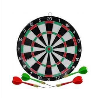 Amango Dart Board Game Set with 4 Darts