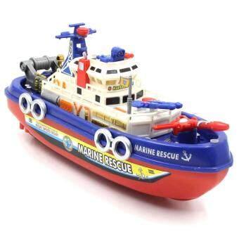 เรือดับเพลิงชนถอยมีเสียงมีไฟ