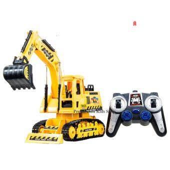 ProudNada Toys ของเล่นเด็กรถแม็คโครบังคับวิทยุ TRUCK SUPER POWER NO.689-13