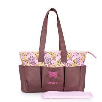 2Kids กระเป๋าสัมภาระคุณแม่ พร้อมสายสะพาย (ชมพู)