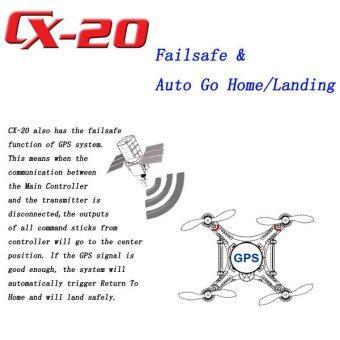 Quadcopter GPS Drone CX20