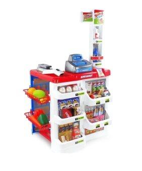 2Kids Supermarket Shopping Carts - White