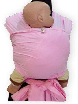 PalmandPond ผ้าอุ้ม Baby Wrap 100% Cotton ยาว 5 เมตร - สีชมพู